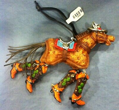 HORSE PENDANT NECKLACE FIGURINE ~ Western Horse Themed Jewelry- Ornament-horse