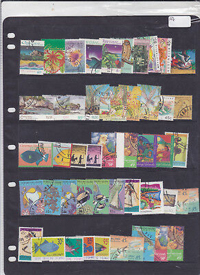 STAMPS..CHRISTMAS ISLANDS,, x 50 CTO all different