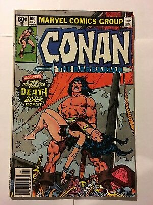 CONAN the barbarian #100 Giant Size Marvel
