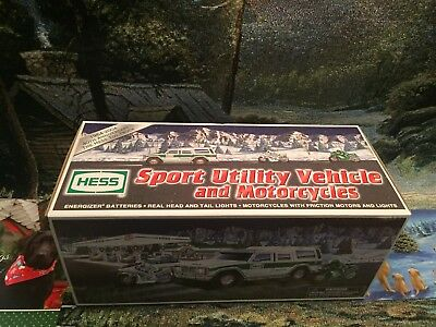 2004 HESS Sport Utility Vehicle & Motorcycles , New In BOX, MINT