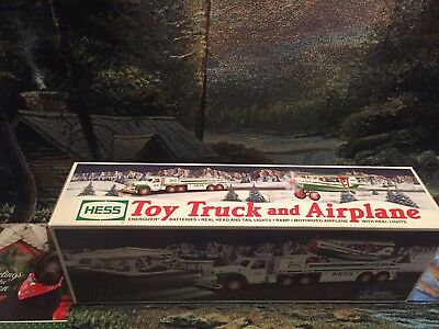 2002  HESS TOW Truck & Airplane Vintage,Collectible, New In BOX