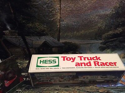 1991 hess truck,  Toy Truck & Racer, MINT New In BOX