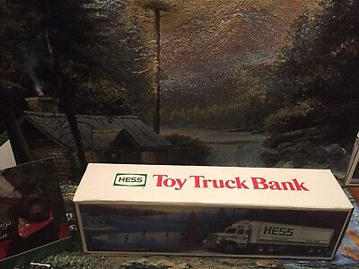 1987 hess truck, Vintage, MINT, New In BOX, Collectible BANK
