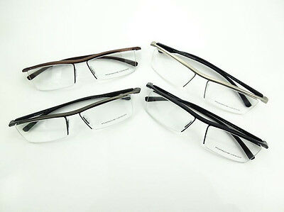 d1e7b171f114 New Half Rim Eyeglass Frames Luxury Porsche Design Sports Tr90 P8189 4  Colors