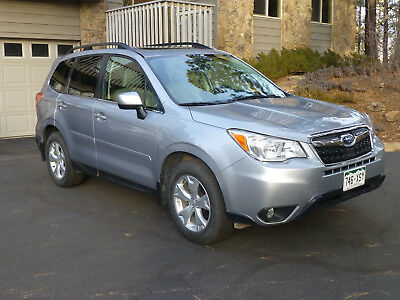 2014 Subaru Forester Limited 2014 Iced Silver Subaru Forester Limited
