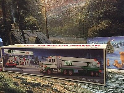1990 hess truck, Vintage, Hard To Find, Collectible, MINT, New In BOX
