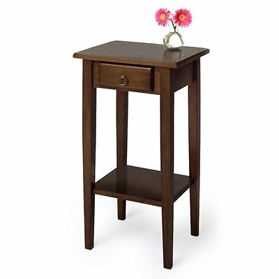Winsome Trading Vasteras Accent Table, Walnut