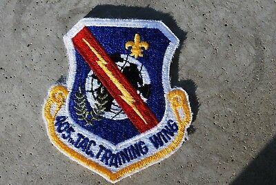 Usaf 405 Tactical Trainingg Wing Patch , New , Appx 3 X 3 In.