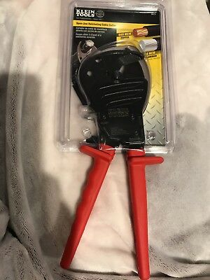 Klein Tools  Open-Jaw Ratcheting Cable Cutter 63711