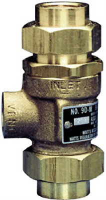 "Watts Brass Tubular 9D-M3 1/2 1/2"" Backflow Preventer For Anti-freeze System"