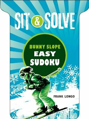 NEW Sit & Solve® Bunny Slope Easy Sudoku (Sit & Solve® Series) by Frank Longo