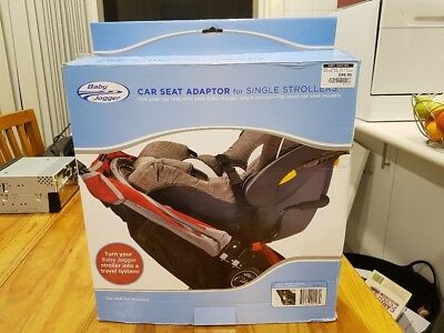 Baby Jogger car seat adaptor for single strollers. Model: BJ90123