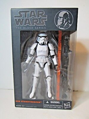 Star Wars The Black Series Wave 3 Stormtrooper #9 6 inch figure Authentic MISB