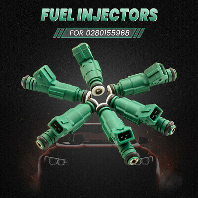 6 FUEL INJECTORS UPGRADE FITS  FORD FALCON BA BF XR6 TURBO 440cc 42LB 0280155968