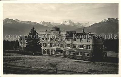 61153924 Montana-Vermala Clinique chirurgicale Bella-Tola Weisshoern Rothorn / M
