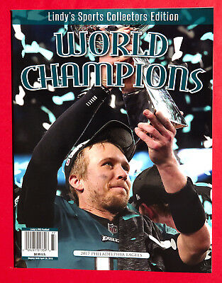 Lindy's Sports Collectors Edition BOOK -  Super Bowl 52 Philadelphia Eagles 2018