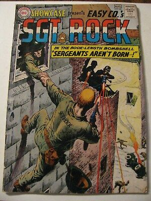 SHOWCASE #45 SGT. ROCK Silver Age Comic Book 1963 DC First Appearance Easy Co.