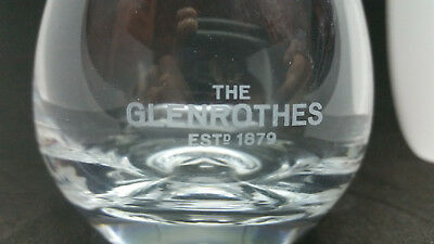 GLENROTHES Scotch whiskey glass in great shape