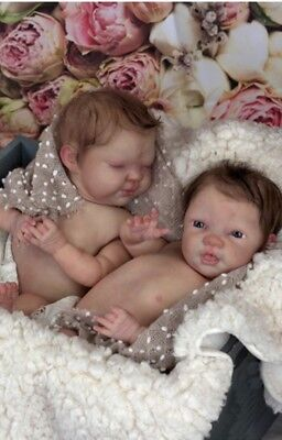 ELLA and EVERLY TwINS Reborn Baby Doll KITS