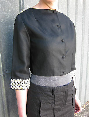 Original 1960's Jacket with Picot Trimming