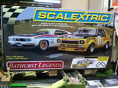 Scalextric Bathurst Legends set ref c1309 Brock vs Moffat set