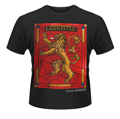 Game of Thrones House Lannister Tyrion Official Tee T-Shirt Mens Unisex