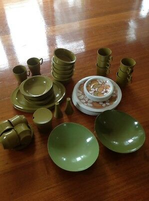Bessemer Set - 50 Pieces Olive Green Various Pieces