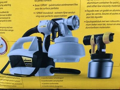 WAGNER WALL PERFECT Flexio 687 W550 PAINT SPRAYING SYSTEM No more rollers!