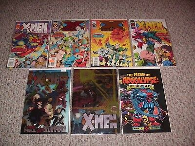 Age Of Apocalypse: The Complete 1995 Series + More! Lot Of 50 X-Men Vf/nm