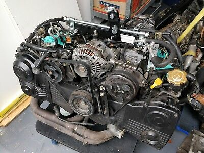 Genuine Subaru ej207 sti 2L long engine with accessories