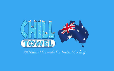 2 Individually Packaged Chill Cooling Towels - Ideal For Anytime Your Hot.