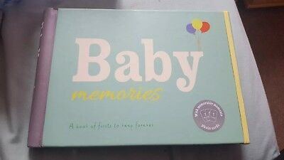 Baby memories Book With Moments Photo Cards. Brand New. Marks And Spencer
