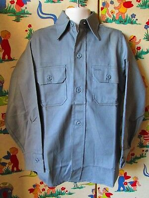 Original Vtg  Boys Washington Dee Cee Shirt NOS Unworn Sz 7