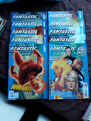 Ultimate Fantastic Four Comic - Issues 1-10