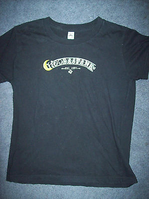 Ladies Hoobastank Black T-Shirt Medium Excellent Condition Classic Girl Est 1994