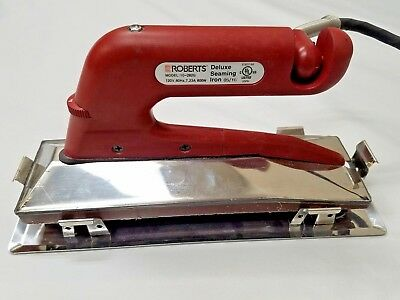 ROBERTS Deluxe Seaming Iron 10-282G-2