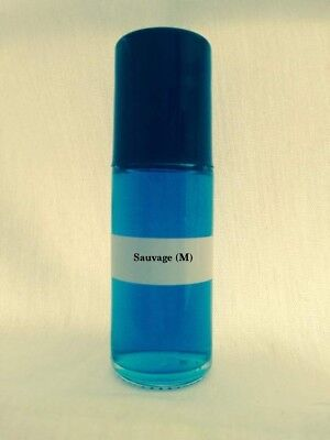 Sauvage Type 1.3oz Large Roll On Pure Men Fragrance Cologne Oil