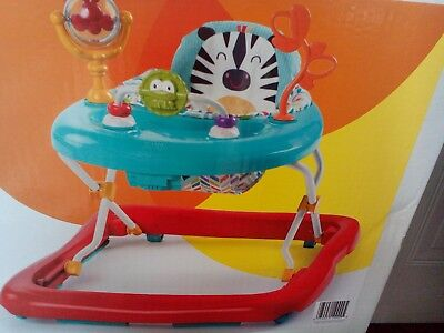 Bright Starts Baby Walker as new condition. Adjustable height.