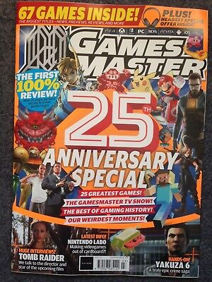 GamesMaster #327 March 2018 (25th Anniversary Special, 25 Greatest Games)