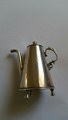 Antique solid silver miniatures
