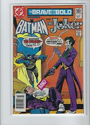 Brave And The Bold #191 Batman And The Joker Dc Bronze Canadian Price Variant