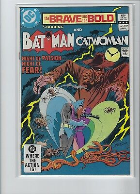 Brave And The Bold #197 Batman And Catwoman Key Dc Bronze Age Comic Sharp Copy