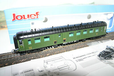 Ho Wagon Jouef Voiture Hj Ocem Mixte Fourgon / 3 Eme Classe Sncf Ref 4029