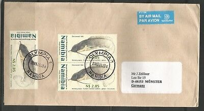 Namibia Cover - Olympia 23.09.2003 Catfish Wels x 3