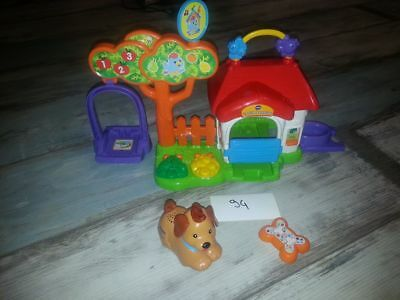 Tut tut animal la niche à surprises (+chien) Vtech - multicolore