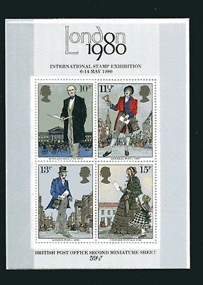 GB Stamps 1979 Miniature Sheet Sir Roland Hill Death Centenary (SG 1099) - MINT