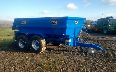 NC Dump Trailer 14ton BRAND NEW