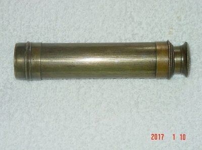 Civil War Era? Brass 3 Draw Telescope