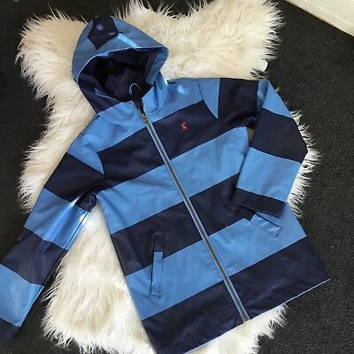 Boys Joules Shower Proof Coat - Age 9-10 Yrs