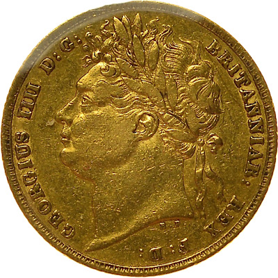 1823 Sovereign Very Rare George Iv Sovereign ®J9